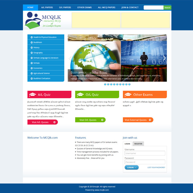 web site for education