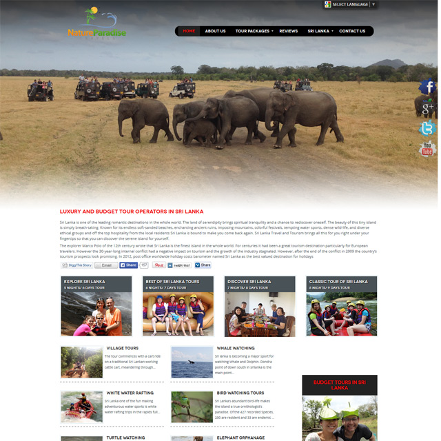 sri lanka tourism website expert